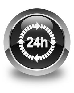 24 Stunden Pflege Button